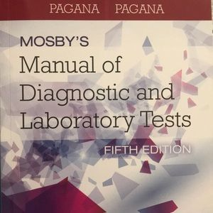 Mosbys Manual of Diagnostic and Laboratory Tests